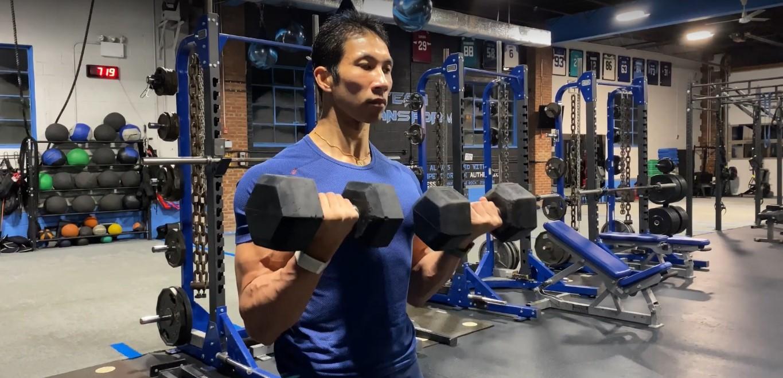 Bangun Otot Tangan Sempurna Dengan Program Gerakan Gaya Campuran